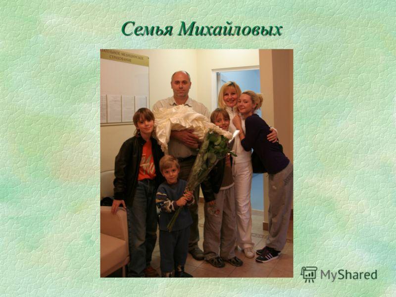 Семья Михайловых Семья Михайловых