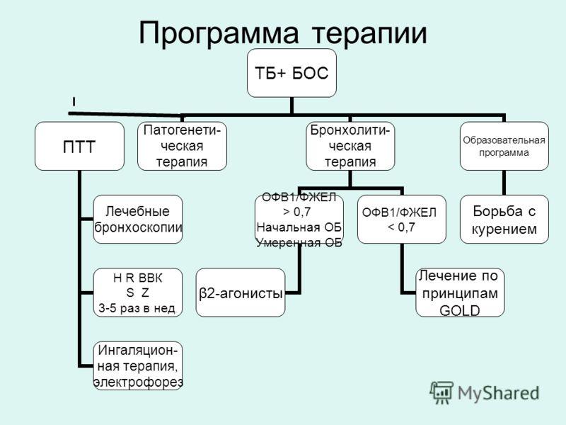 Программа терапии