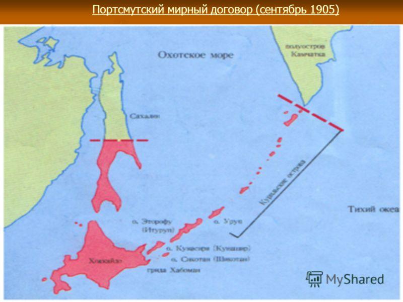 Портсмутский мирный договор (сентябрь 1905)