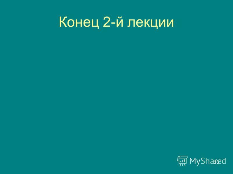 33 Конец 2-й лекции