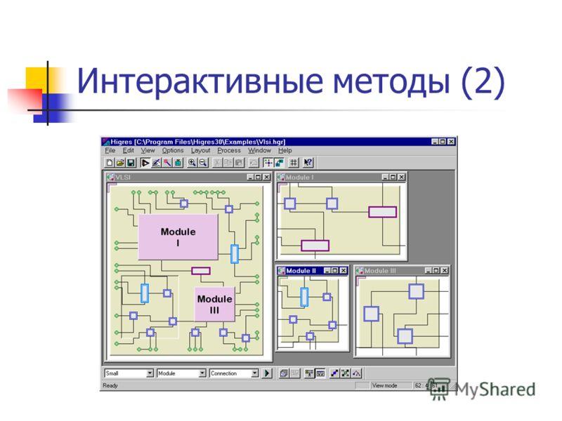Интерактивные методы (2)