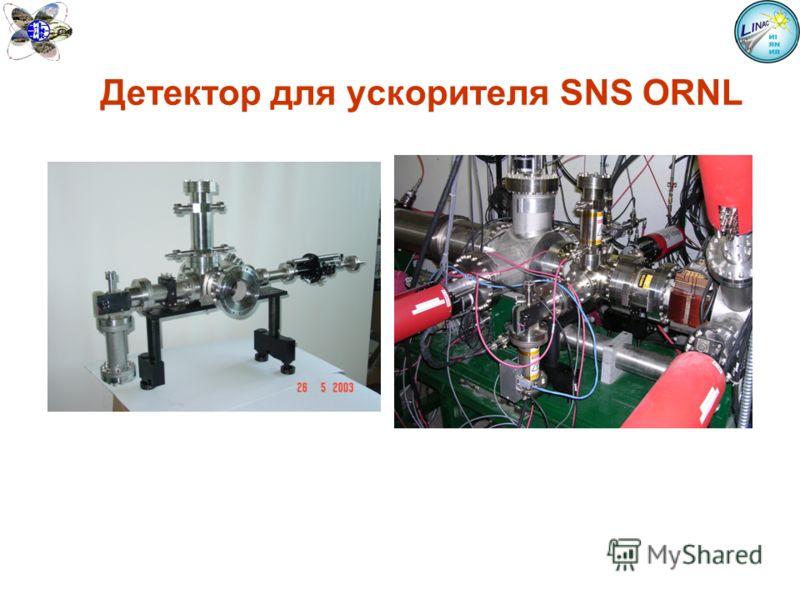 Детектор для ускорителя SNS ORNL