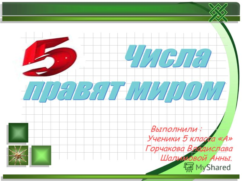 Выполнили : Ученики 5 класса «А» Горчакова Владислава Шалимовой Анны.