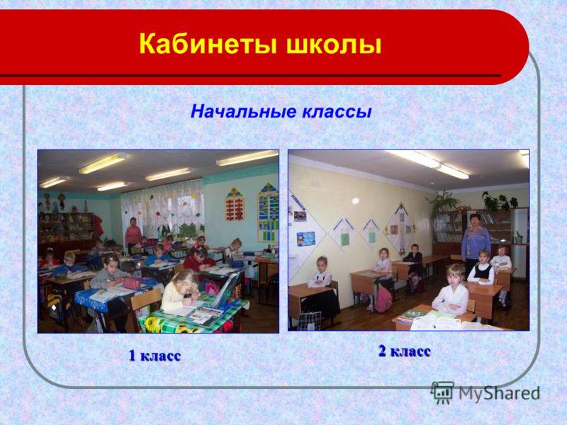 Кабинеты школы 1 класс 2 класс Начальные классы