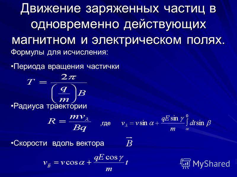 Движение частиц в магнитном поле Частичка влетает перпендикулярно линиям магнитной индукции Частичка влетает под углом α к линиям магнитной индукции + +