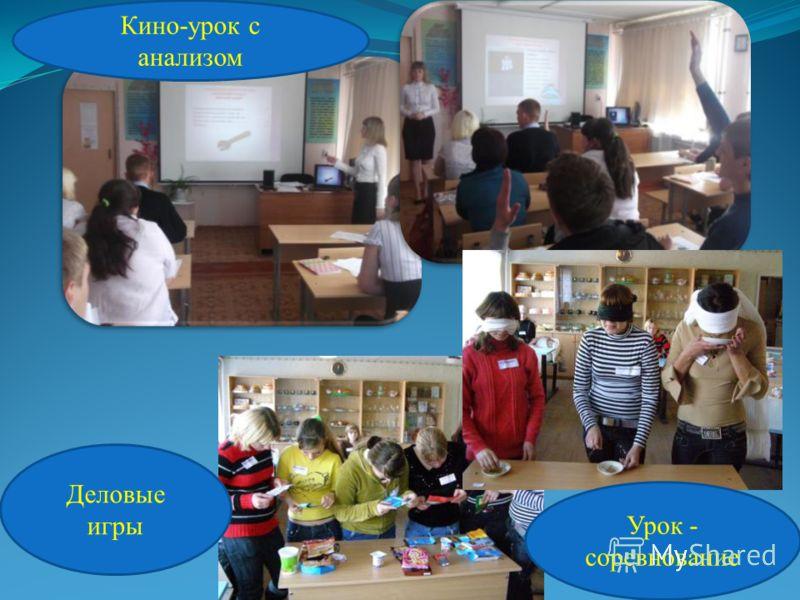 - Применяю педагогические технологии и использую активные методы обучения: 11 Урок - лекция