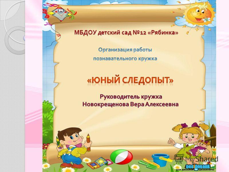 МБДОУ детский сад 12 « Рябинка »