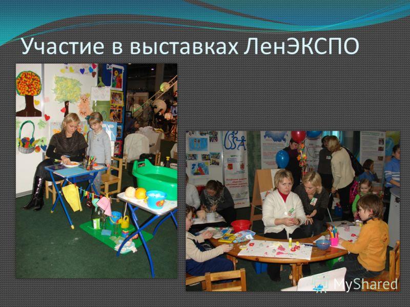 Участие в выставках ЛенЭКСПО