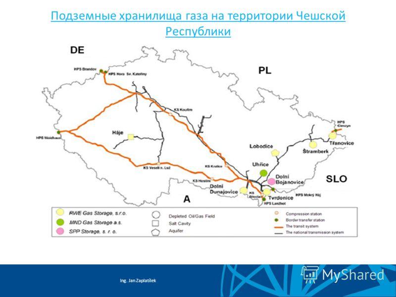 Ing. Jan Zaplatílek Подземные хранилища газа на территории Чешской Республики