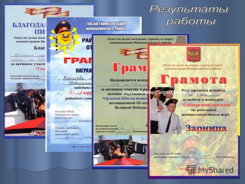 «Рукоделие» - руководитель Сапрыкина Н.Л.