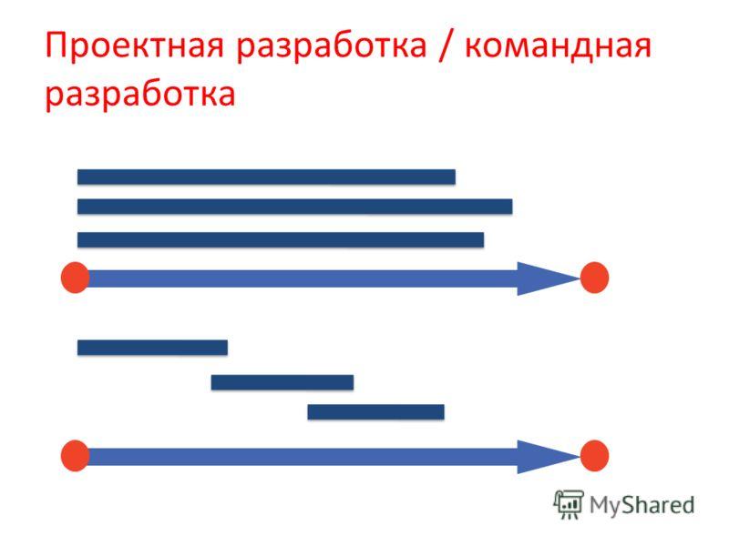 Проектная разработка / командная разработка