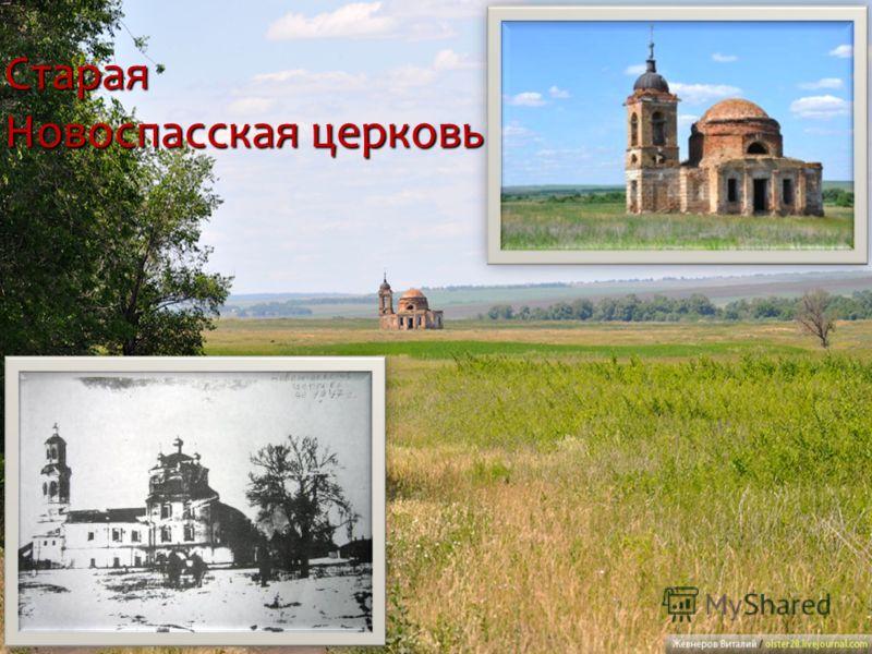 Старая Новоспасская церковь