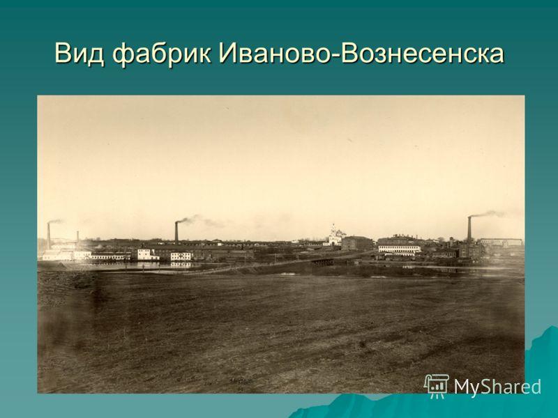 Вид фабрик Иваново-Вознесенска
