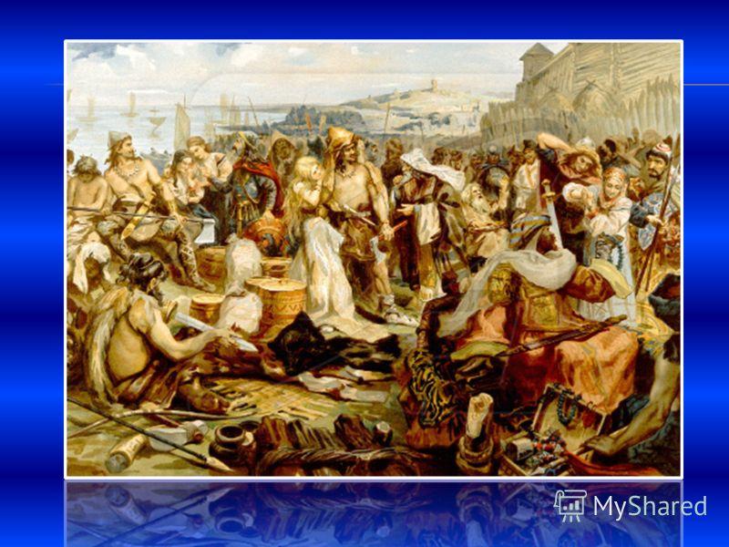 В славянском племени основную массу населения составляли свободные общинники – люди. Являясь основой племенного ополчения, они участвовали в управлении через народное собрание – вече На вече заседали только мужчины – главы больших семей. Функции веча