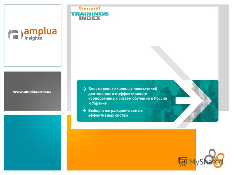 www.amplua.com.ua Trainings INDEX 2010: бенчмаркинг эффективности корпоративных систем обучения
