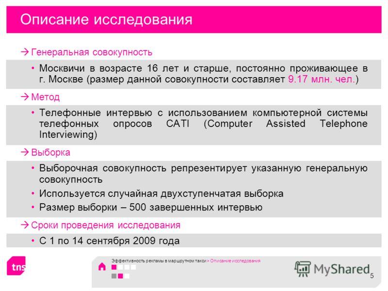 Описание исследования Генеральная совокупность Москвичи в возрасте 16 лет и старше, постоянно проживающее в г. Москве (размер данной совокупности составляет 9.17 млн. чел.) Метод Телефонные интервью с использованием компьютерной системы телефонных оп