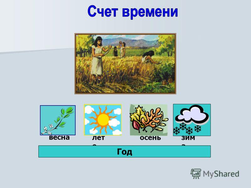весна лет о осеньзим а Год