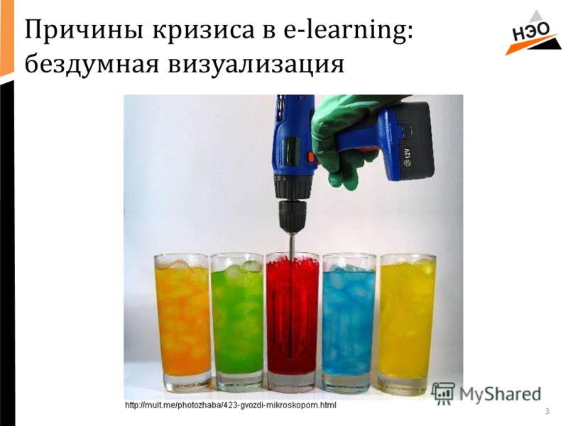 Причины кризиса в e-learning: бездумная визуализация 3