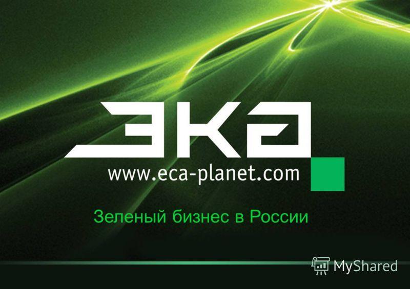 Зеленый бизнес в России