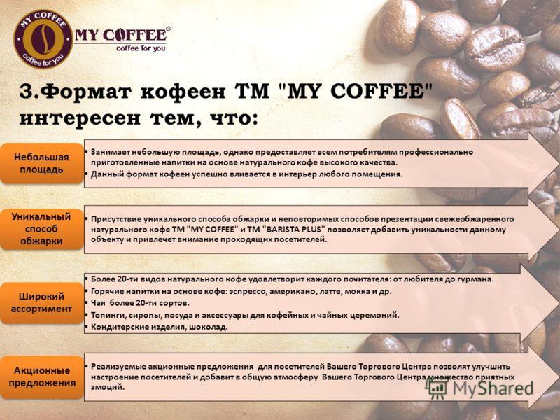 3.Формат кофеен ТМ