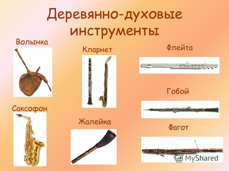 Деревянно-духовые инструменты Флейта Гобой Кларнет Фагот Волынка Саксофон Жалейка
