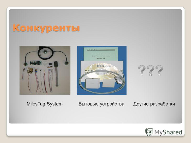 Конкуренты MilesTag SystemДругие разработкиБытовые устройства