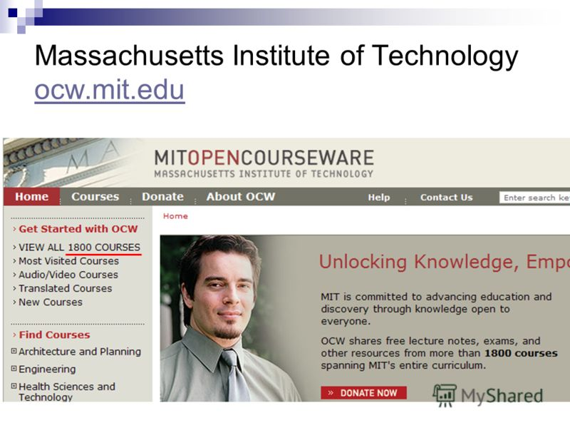 Massachusetts Institute of Technology ocw.mit.edu ocw.mit.edu