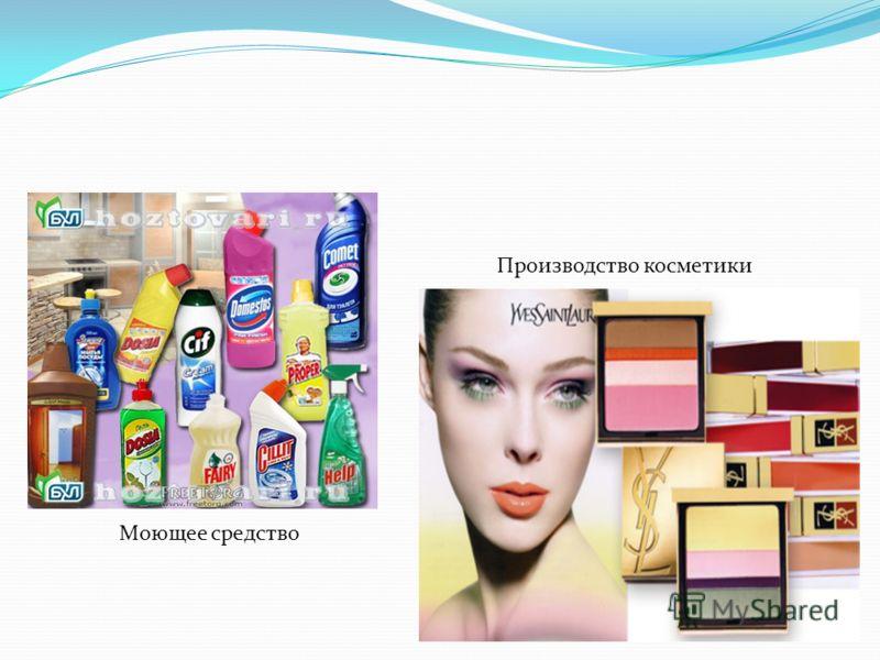 Моющее средство Производство косметики
