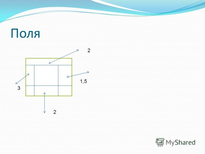 Презентация на тему Требования к оформлению реферата Реферат  6 Поля 2 3 1 5 2