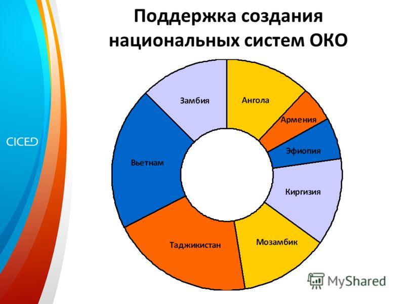 Поддержка создания национальных систем ОКО