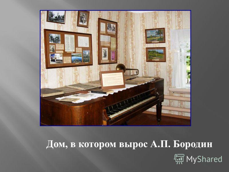 Дом, в котором вырос А.П. Бородин