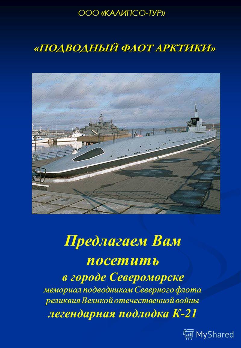 Подводный флот арктики ооо калипсо