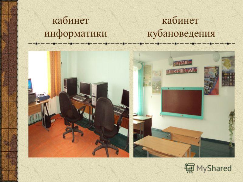 кабинет кабинет информатики кубановедения