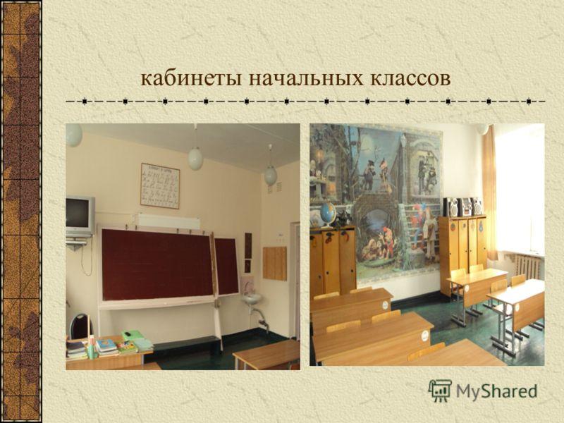 кабинеты начальных классов