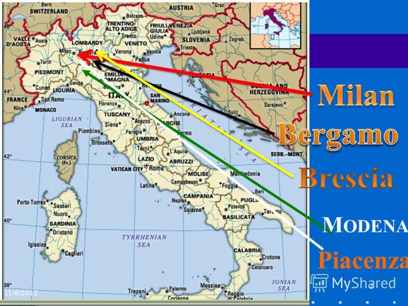 2 M ODENA Piacenza 11/6/2012