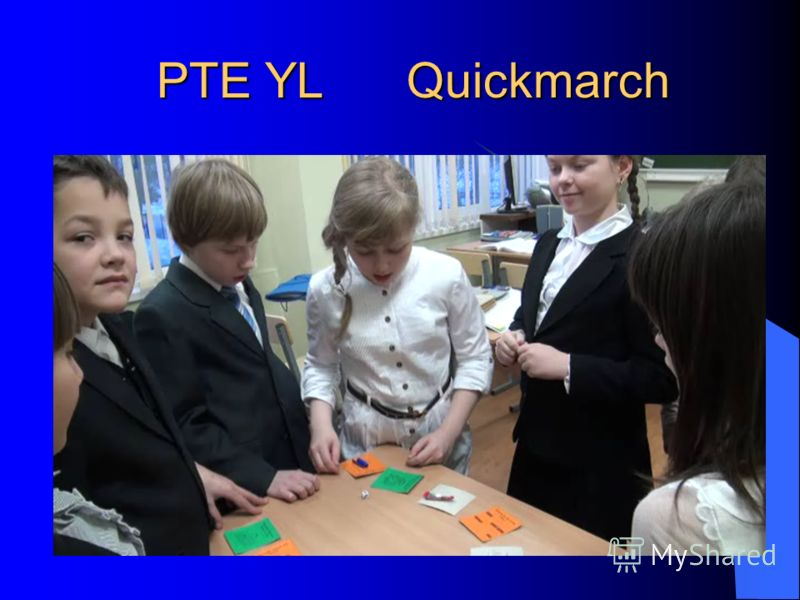 PTE YL Quickmarch