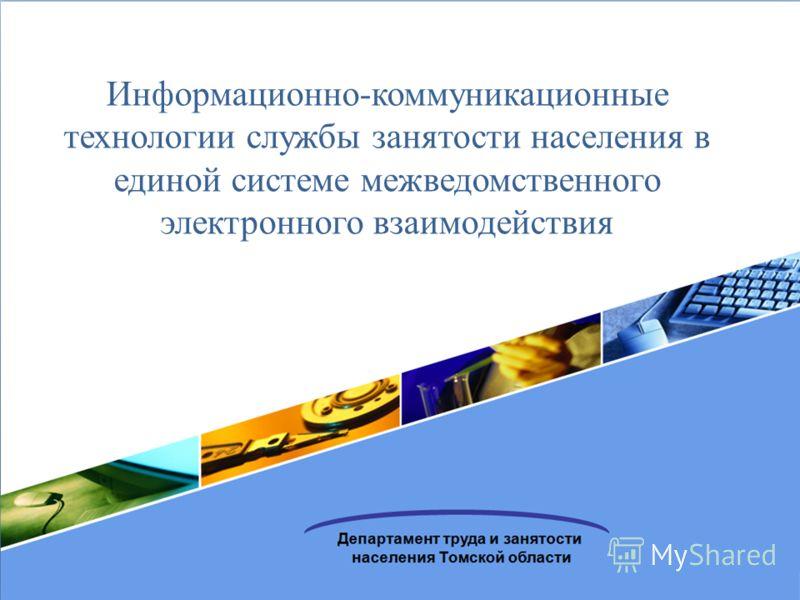 Информационно-коммуникационные технологии службы занятости населения в единой системе межведомственного электронного взаимодействия