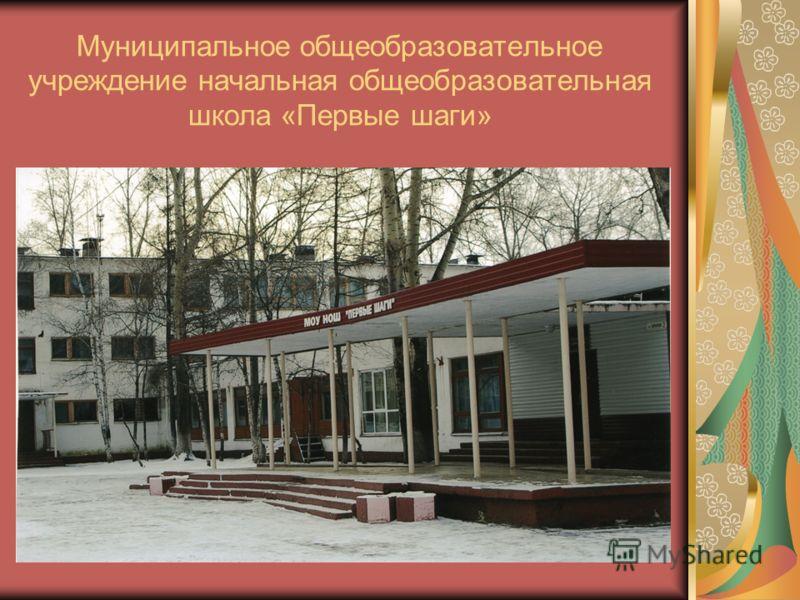 Муниципальное общеобразовательное учреждение начальная общеобразовательная школа «Первые шаги»
