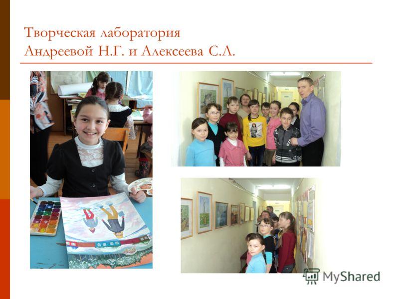 Творческая лаборатория Андреевой Н.Г. и Алексеева С.Л.