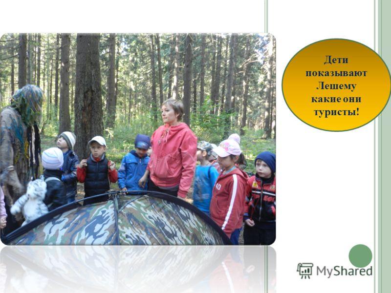 Рассказ детей о правилах поведения в лесу