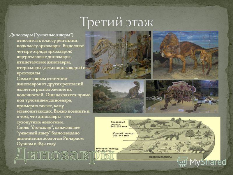 Динозавры (