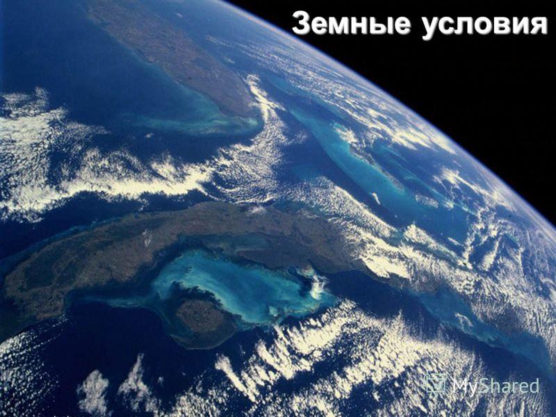 Земные условия
