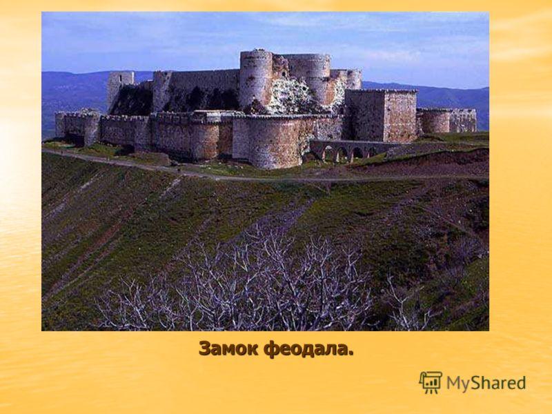 Замок феодала.