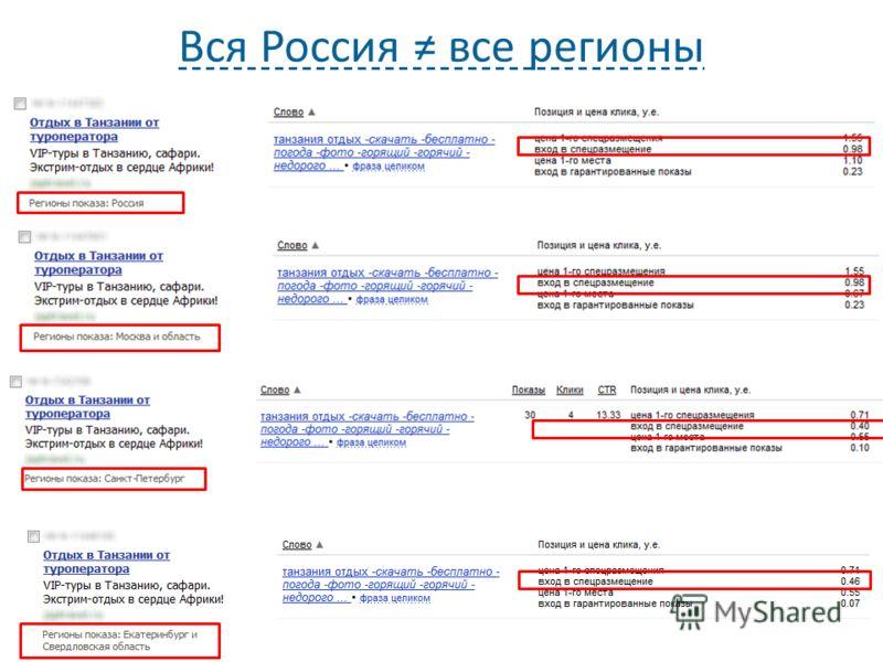 Вся Россия все регионы 19