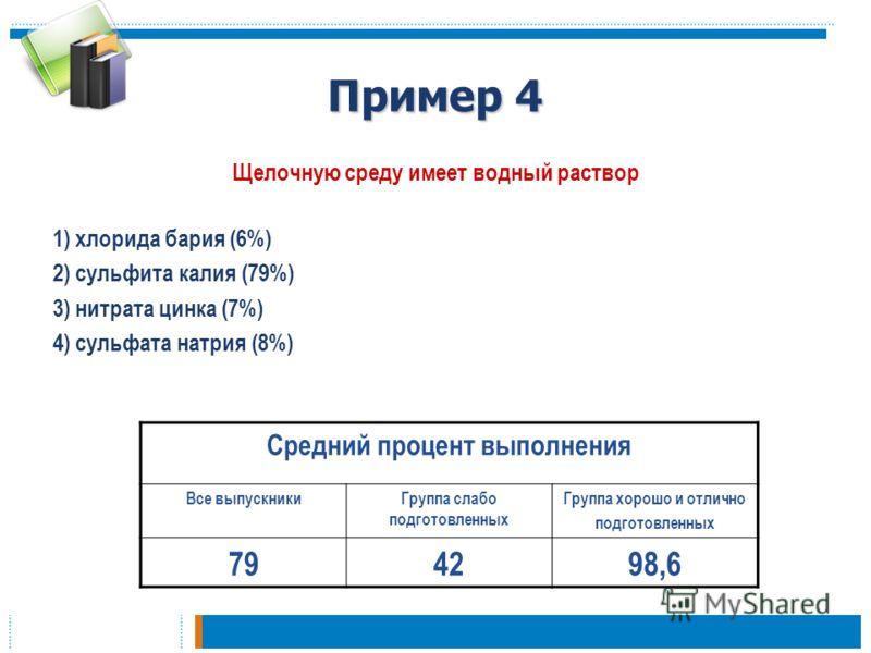 2) сульфита калия (79%) 3)