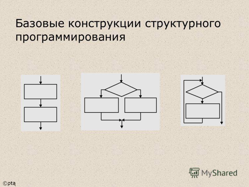 ©ρŧą Базовые конструкции структурного программирования