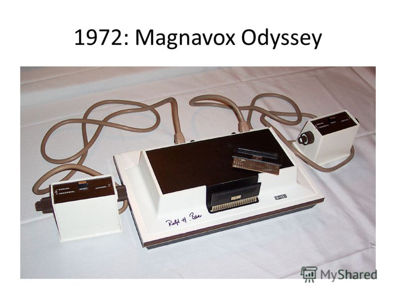 1972: Magnavox Odyssey
