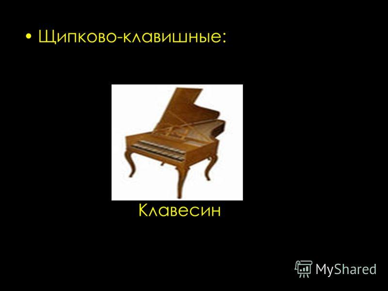 Щипково-клавишные: Клавесин