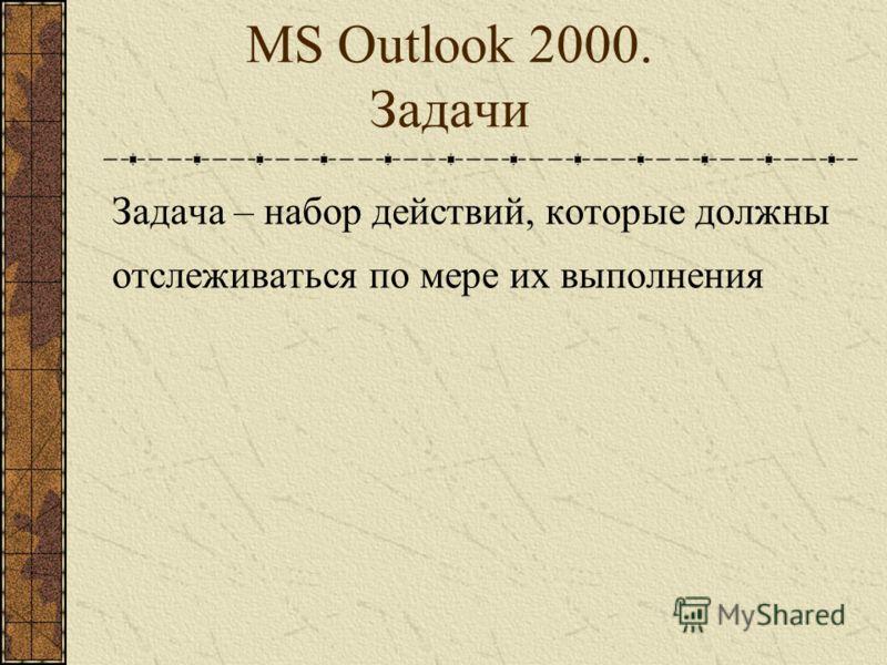 MS Outlook 2000. Календарь Настройки Календаря: Параметры рабочей недели Добавление национальных праздников как событий Календаря
