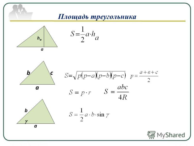 а b а Площадь прямоугольника а